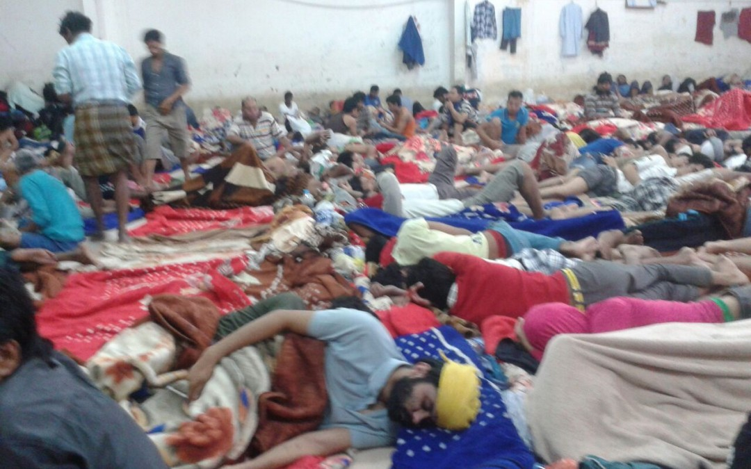 Press Release – Appalling Plight of Indian Work Migrants in Saudi Arabia