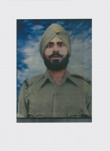 Sepoy Jaspal Singh from the 15 Punjab Regiment
