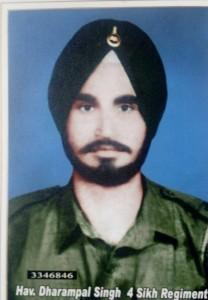Hav. Daharampal Singh IV Sikh Regiment