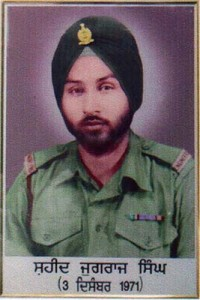 Bombay Sapper Jagraj Singh of 102 Engineers  Regiment