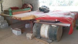 Living quarters of migrant workers in Saudi Arabia